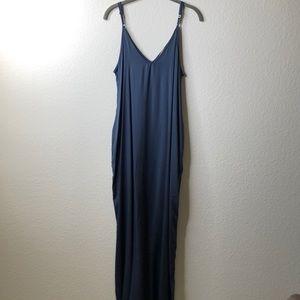 Grey/Blue Maxi